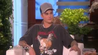 Justin Bieber On Nudes & Girl He Spent Time With - ELLEN SHOW