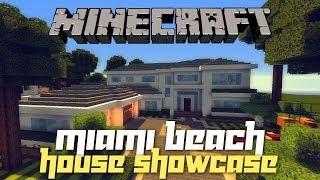 Minecraft: Miami Beach House Tour! (House Tours of Danville PC - Ep.2)