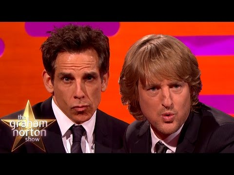 Ben Stiller and Owen Wilson Have a 'Blue Steel'-Off