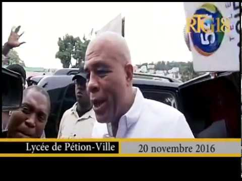 Haiti Election news: Elections Haïti 20 novembre 2016