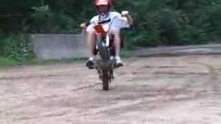 7. Pitbike: Day 1 ( Suzuki DRZ 110 and XR 50 )