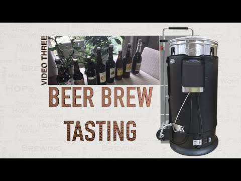 GRAINFATHER BEER BREW TASTING VIDEO 3