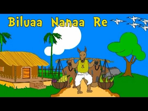 Video Biluaa  Nanaa  Re  | Oriya Nursery Rhymes and Songs | Shishu Raaija - A Kids World download in MP3, 3GP, MP4, WEBM, AVI, FLV January 2017