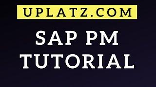 SAP PM training