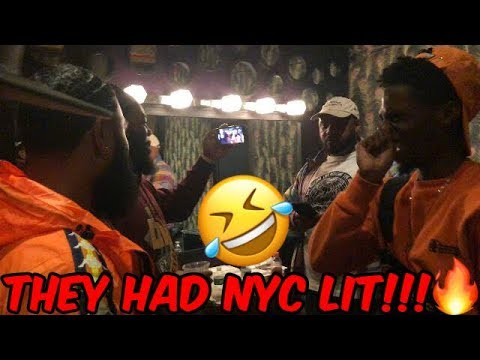 SPICY MAFIA BACK IN NYC | BACKSTAGE AT QUEENS PERFORMANCE FT. CLARENCENYC, MODDAGOD & SMOOVEAURA TV