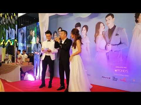 0 Khả Ngân bị Song Luân bỏ rơi ở đám cưới tập thể của Hậu duệ mặt trời Việt Nam