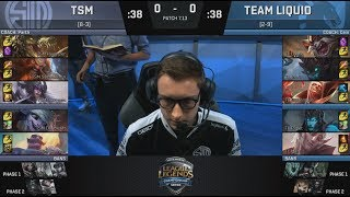TSM VS TL Game 1 Full Replay : https://www.youtube.com/watch?v=ErXDF3W0OiY