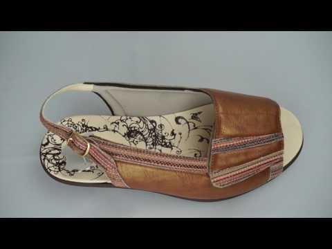 Chaussures femme été pieds larges AD 2193
