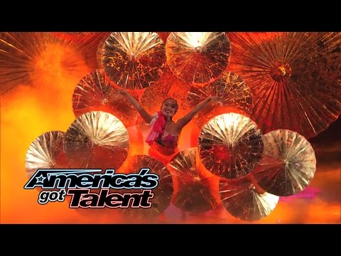 NBC TV - The 25-person dance group puts on an elegance performance using multimedia, fans and stunning moves. Check out Jasmine Flowers! » Subscribe: http://full.sc/IlBBvK » Watch America's Got Talent...