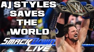 Nonton Wwe Smackdown Live 11 7 17 Full Show Review   Results  Aj Styles Save The World From Jinder Mahal Film Subtitle Indonesia Streaming Movie Download