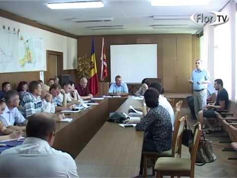 Ședința consiliului orășenesc Florești 23 06 16