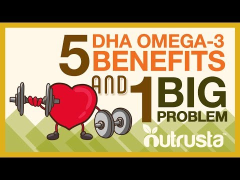 5 Proven Benefits of DHA Omega-3 Fish Oil (and 1 BIG Problem)