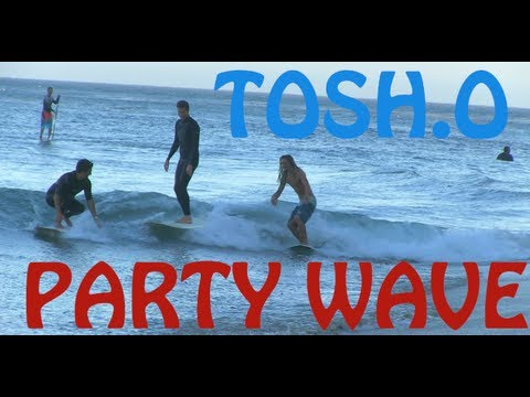 PARTY Wave with Daniel Tosh & Air Horn Prank Preview!