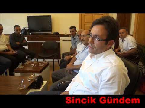 Sinciklilerden Malatya Vali Yardımcısı Bülent Güven'e ziyaret