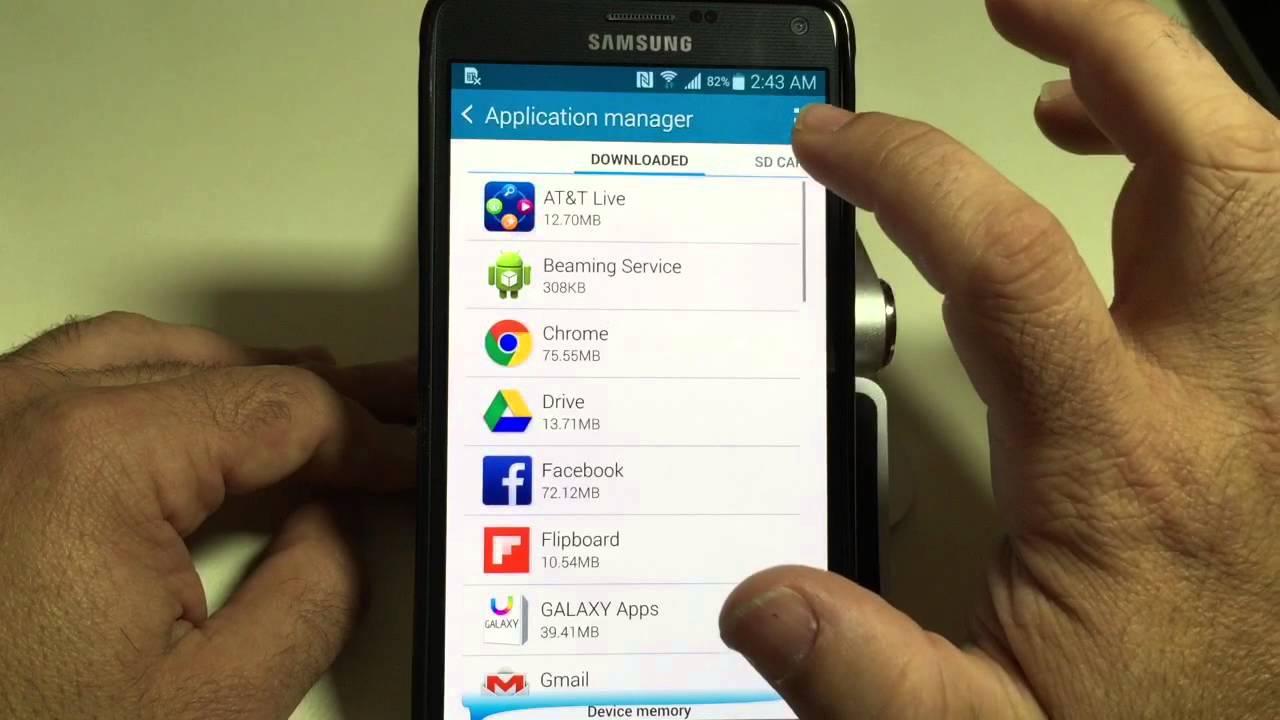 Descargar Samsung Galaxy Note 4 Tip: How to disable apps para Celular  #Android