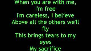 My Sacrifice - Creed Lyrics