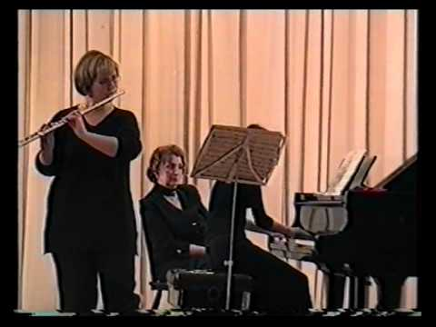 """№40(а) Клуб искусств """"Звучат флейта и гусли"""" 1/2 13.2.2000г."""