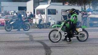 1. Drag racing Z1000, Hayabusa, KX500 @ VW Open 2010