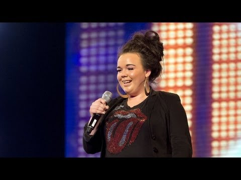 The X Factor UK: Amy Mottram's audition - Adele's One And Only - The X Factor UK 2012
