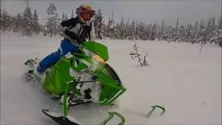 7. GoPro - Tree Riding - Arctic Cat M8000 153