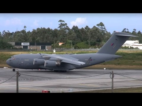 C-17 Royal Air Force at LPPR