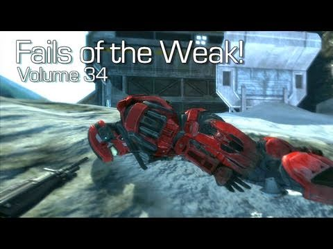 Halo: Reach - Fails of the Weak Volume 34 (Funny Halo Bloopers and Oopsies!)