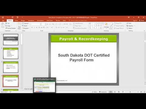 Davis-Bacon Act Compliance Principles