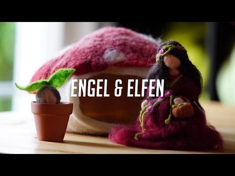 Filzanleitung für enzückende Wollengel & Elfen – Nassfilzen mit Filzwolle einfach lernen