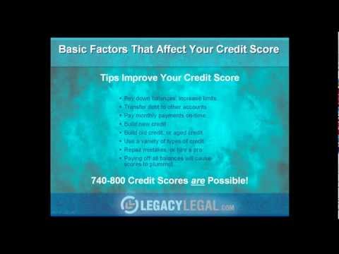 Simple Steps to Improve Your Credit Scores