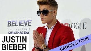 Subscribe to Hollywire for The Latest Pop and Music News Updates!  http://bit.ly/Sub2HotMinuteYesterdayJustin Bieber announced he would be cancelling his tour, and left thousands of fan, upset and worried about him! But what is the real reason? Could it be that he is planning to start his own church? Check out the details on today's Hollywire Hot Minute.Visit our website for all things celebrity  http://www.hollywire.com/Follow Hollywire!  http://bit.ly/TweetHollywireSend Electra a Tweet!  https://twitter.com/electraformosa Follow Electra on Instagram!  https://www.instagram.com/electraformosa