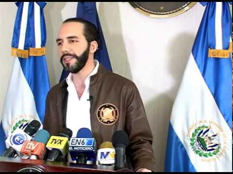 Alcalde Nayib Bukele pidió al presidente Sánchez Cerén vete reformas Ley de Extinción de Dominio