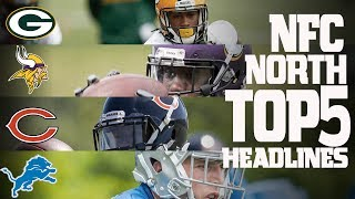 The NFC North Division's top 5 headlines from the offseason heading into this 2017 season. Subscribe to NFL: http://j.mp/1L0bVBuStart your free trial of NFL Game Pass: https://www.nfl.com/gamepass?campaign=sp-nf-gd-ot-yt-3000342Sign up for Fantasy Football! http://www.nfl.com/fantasyfootballThe NFL YouTube channel is your home for immediate in-game highlights from your favorite teams and players, full NFL games, behind the scenes access and more!Check out our other channels:NFL Network http://www.youtube.com/nflnetworkNFL Films http://www.youtube.com/nflfilmsFor all things NFL, visit the league's official website at http://www.nfl.com/Watch NFL Now: https://www.nfl.com/nowListen to NFL podcasts: http://www.nfl.com/podcastsWatch the NFL network: http://nflnonline.nfl.com/Download the NFL mobile app: https://www.nfl.com/apps2016 NFL Schedule: http://www.nfl.com/schedulesBuy tickets to watch your favorite team:  http://www.nfl.com/ticketsShop NFL: http://www.nflshop.com/source/bm-nflcom-Header-Shop-TabLike us on Facebook: https://www.facebook.com/NFLFollow us on Twitter: https://twitter.com/NFLFollow us on Instagram: https://instagram.com/nfl/