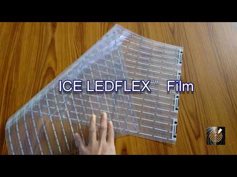 Stunning new flexible LED film for  digital displays - ICE LEDFlex  Film