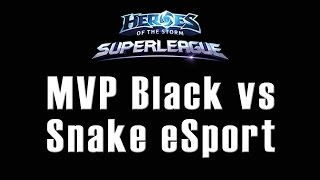 MVP Black vs Snake eSport - OGN Superleague - 20/09/2015