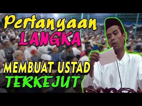 Download Video PERTANYAAN LANGKA.  2 Pertanyaan Ini Membuat Ustad Abdul Somad Terkejut & Tertawa