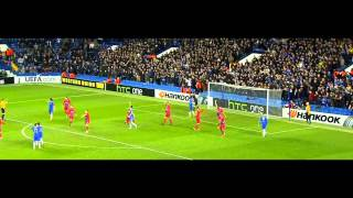Eden Hazard gegen Steaua Bukarest