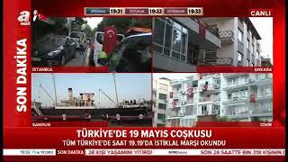 Gaziosmanpaşa'da 19 Mayıs Coşkusu - A Haber