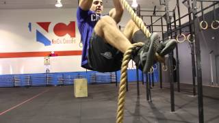 CrossFit rope climbing techniques with Jason Khalipa