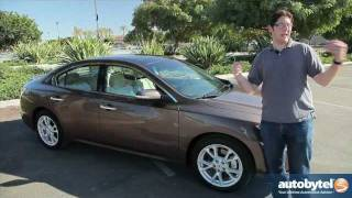 2012 Nissan Maxima Test Drive&Car Review