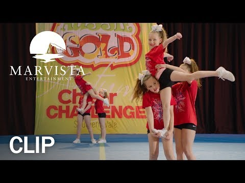 Going for Gold - Clip: Cheerleading Competition - MarVista Entertainment