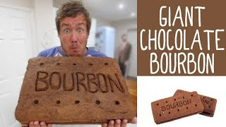 Giant Chocolate Bourbon by  My Virgin Kitchen