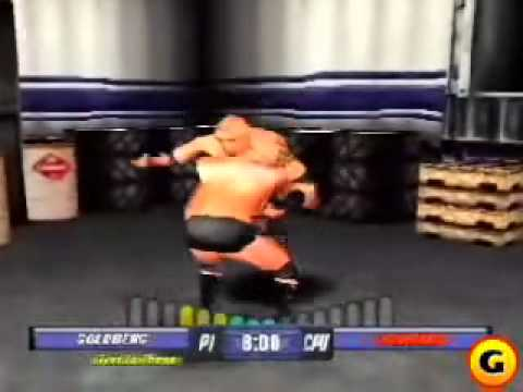WCW Backstage Assault Playstation
