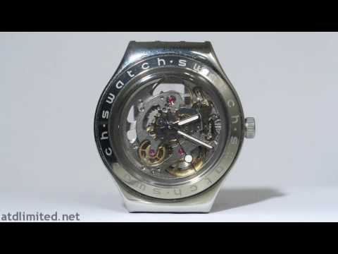 atdlimited - Swatch Irony Automatic Body and Soul YAS100G - ETA 2841-1 movement.
