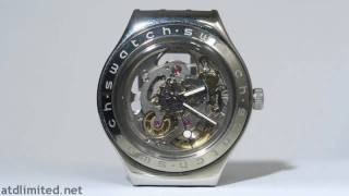 Swatch Irony Automatic Skeleton Watch Timelapse [HD]