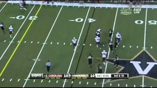 DJ Swearinger vs  Vanderbilt  (2012)