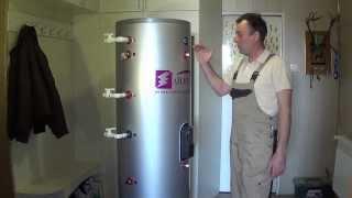 Как подключить бойлер косвенного нагрева на 300 литров с двумя теплообменниками.