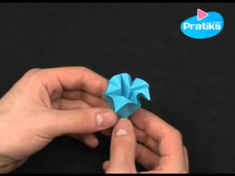 Comment faire une fleur en papier