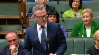 Question from the Member for Boothby to the Minister for Defence Industry about benefits to the nation of the national naval shipbuilding project, and any threats that put that project at risk, and how the Federal Government will ensure power supply is guaranteed to the Osborne facility.