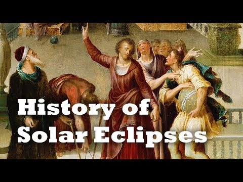 History of Solar Eclipses