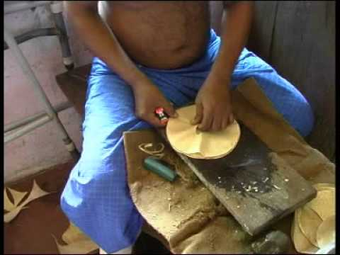 Tabla - Led by the ancient story about a parrot, H. Wiethase shows how a tabla is made.